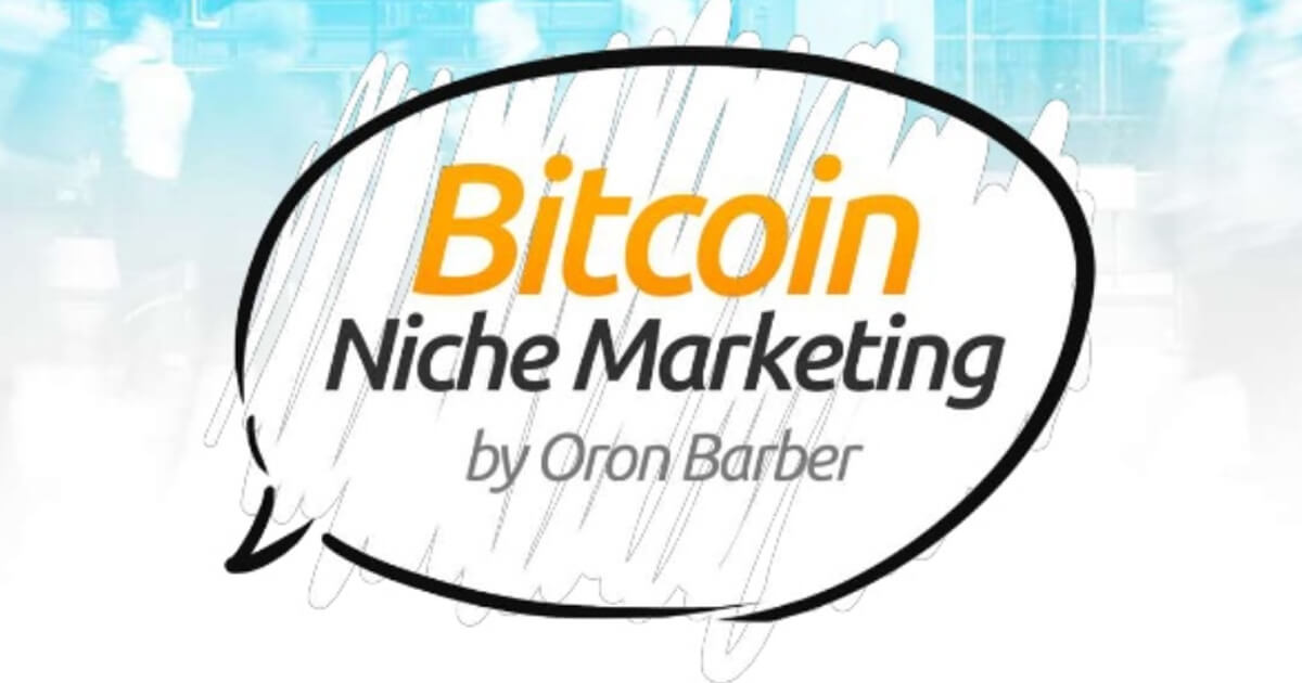 Bitcoin Niche Marketing by Oron Barber, ICE 2015